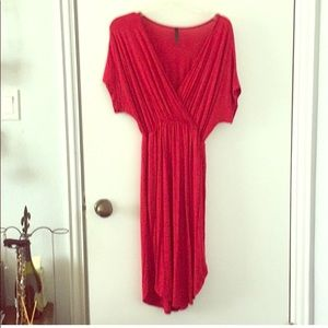 Dresses & Skirts - Fun Red Dress with pockets